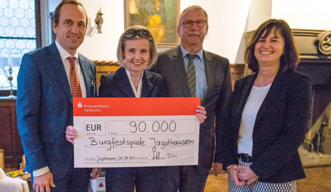 90.000 Euro für die Burgfestspiele