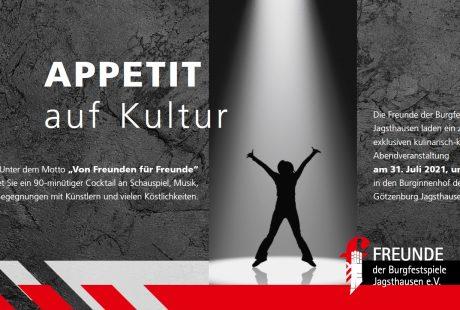 """Zum Artikel – Intimes Event: Rückblick auf """"Appetit auf Kultur"""""""